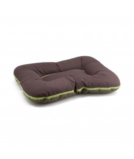 ARNOLD BED XXL BROWN/OLIVE