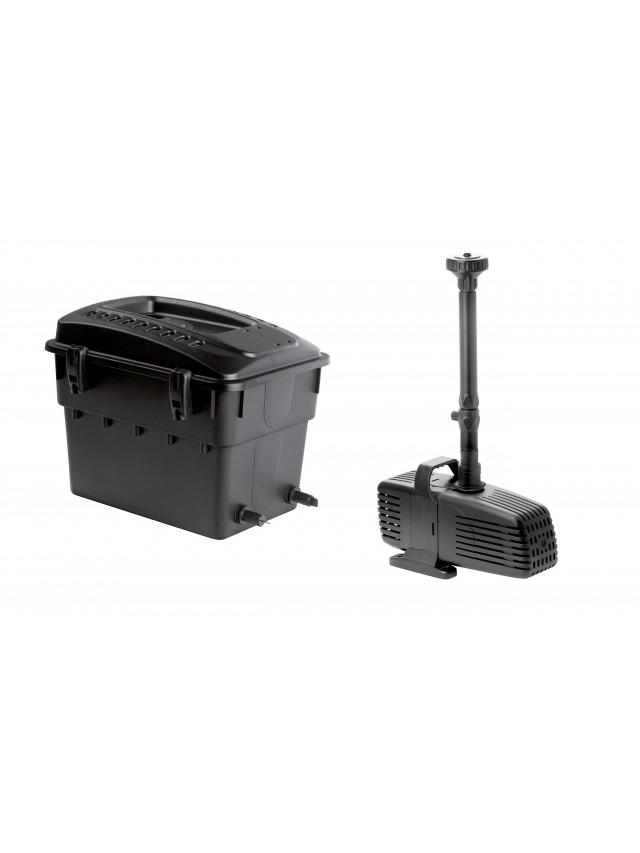 Maxi 1 bio filtro laghetto con pompa 3500 l h aquael fino for Pompa e filtro per laghetto