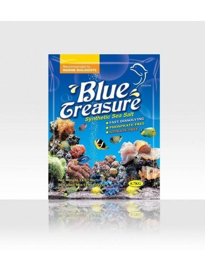 REEF SEA SALT 6.70 KG BLUE TREASURE