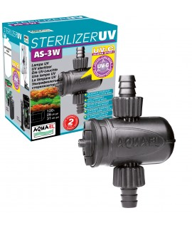 UV AS STERILIZZATORE 3W AQUAEL